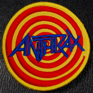 """Anthrax Euphoria 4x4"""" Embroidered Patch"""