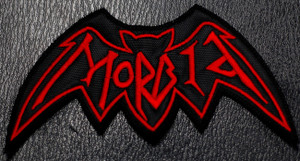 """Morbid Logo 4 x 2.5""""  Embroidered Patch"""