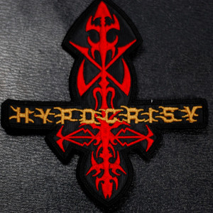 """Hypocrisy Coat of Arms 5x5"""" Embroidered Patch"""
