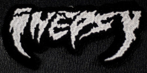 """Inepsy Logo 4.5x2.5"""" Embroidered Patch"""