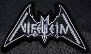 "Nifelheim Logo 4x3"" Embroidered Patch"