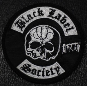 "Black Label society 3x4"" Embroidered Patch"