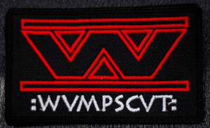 "Wumpscut Logo 4.5x3.5"" Embroidered Patch"