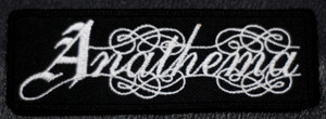 "Anathema Logo 4.5x2"" Embroidered Patch"