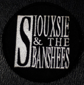 "Siouxsie and the Banshees Logo 4x4"" Embroidered Patch"