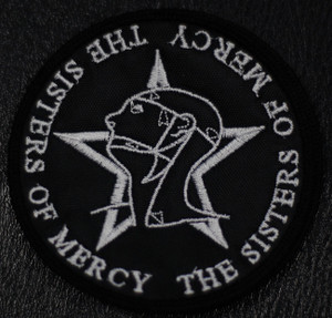 "Sisters of Mercy Logo 4x4"" Embroidered Patch"
