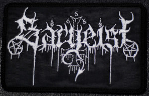 """Sargeist Logo 5x4"""" Embroidered Patch"""