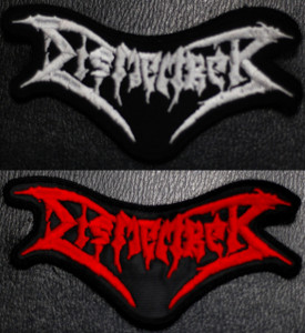 """Dismember Logo 5x3"""" Embroidered Patch"""