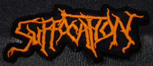 "Suffocation - Logo 4x2"" Embroidered Patch"