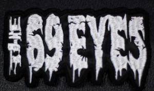 """The 69 Eyes 5.5x3.5"""" Embroidered Patch"""