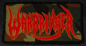 "Warbringer Logo 4x2"" Embroidered Patch"
