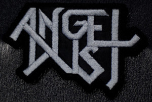 """Angel Dust Grey Logo 4x3.5"""" Embroidered Patch"""