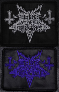 """Dark Funeral Logo 3x3"""" Embroidered Patch"""