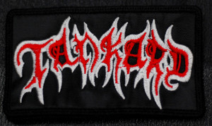 """Tankard Logo 4x2.5"""" Embroidered Patch"""