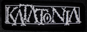 "Katatonia Logo 5x2"" Embroidered Patch"