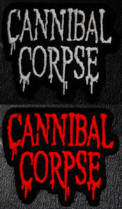 """Cannibal Corpse Logo  4x3"""" Embroidered Patch"""