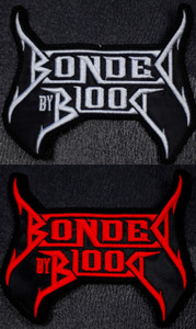 "Bonded by Blood Logo 4x3"" Embroidered Patch"