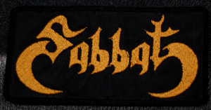 "Sabbat Logo 5x2.5"" Embroidered Patch"