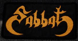 "Sabbat Logo 5x2.5"" Embroidered Patch"