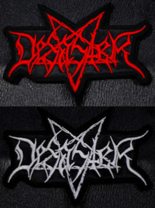 """Desaster Logo 4.5x4"""" Embroidered Patch"""