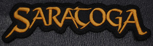 "Saratoga Logo 5x1.5"" Embroidered Patch"