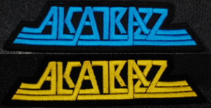 "Alcatrazz Logo 3.5x1"" Embroidered Patch"