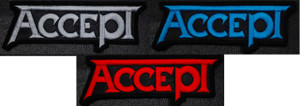 """Accept Logo 4x2"""" Embroidered Patch"""