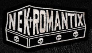 "Nekromantix Logo 3x2"" Embroidered Patch"