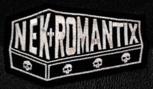 "Nekromantix Logo 3x2"" Embroidered Patch"