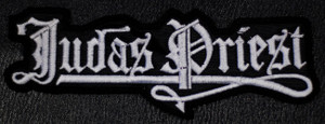 "Judas Priest Logo 5x1"" Embroidered Patch"
