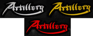 """Artillery Logo 4x2"""" Embroidered Patch"""