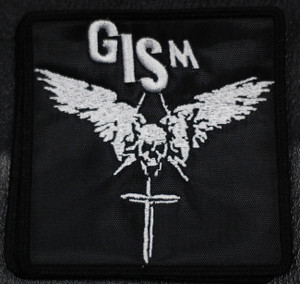"G.I.S.M. Skull & Dagger 4x4"" Embroidered Patch"