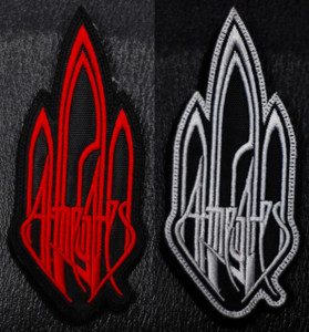 """At the Gates Logo 2.5x5"""" Embroidered Patch"""