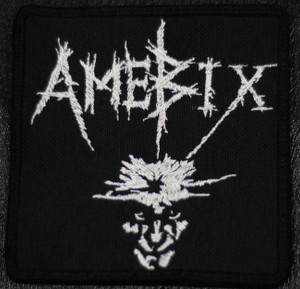 "Amebix No Gods No Masters 4x4"" Embroidered Patch Skull"