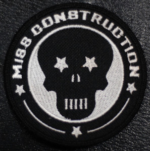 """Miss Construction Logo 4x4"""" Embroidered Patch"""