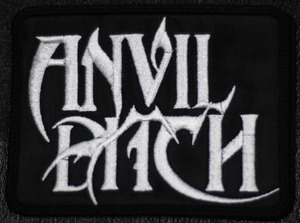 "Anvil Bitch Logo 4x3"" Embroidered Patch"