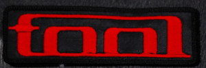 """Tool Red Logo 5x1.5"""" Embroidered Patch"""