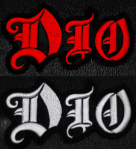 """Dio Logo 3x2"""" Embroidered Patch"""