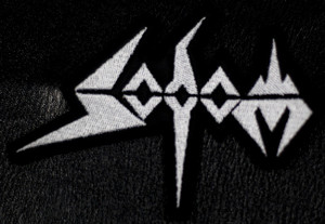 """Sodom Logo 4x2"""" Embroidered Patch"""