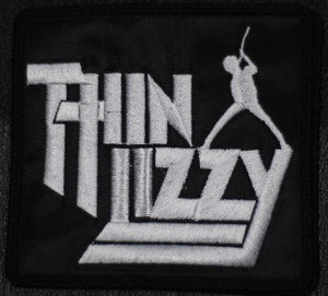 """Thin Lizzy Logo 4x4"""" Embroidered Patch"""