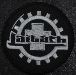 "Laibach Coat Of Arms 4x4"" Embroidered Patch"