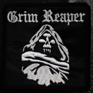 "Grim Reaper Reaper 4x4"" Embroidered Patch"