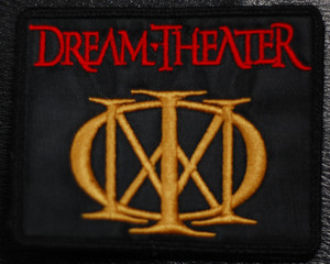 """Dream Theater Logo 4x3"""" Embroidered Patch"""