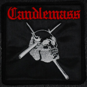 "Candlemass Epicus Doomicus Metallicus 4x4"" Embroidered Patch"