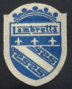 "Lambretta - Badge Logo 2x3"" Embroidered Patch"