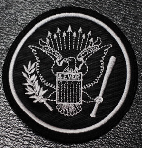 """Ramones Eagle Logo 3x3"""" Embroidered Patch"""