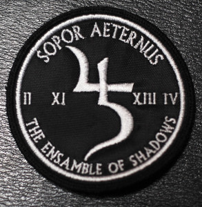 "Sopor Aeternus & the Ensemble of Shadows Logo 3x3"" Embroidered Patch"