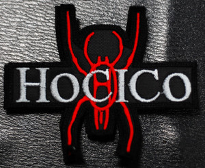 """Hocico Spider Logo 4x2"""" Embroidered Patch"""