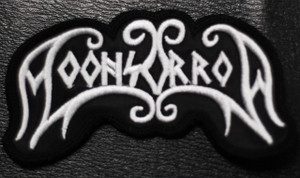 """Moonsorrow Logo 3.5x2"""" Embroidered Patch"""