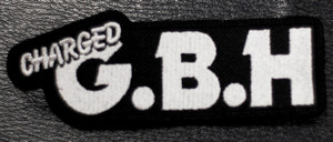 """Charged GBH Logo 3x2"""" Embroidered Patch"""
